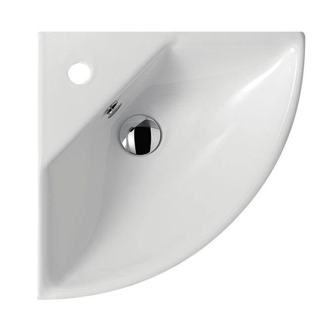 lavabo angolare 45 cm code 5202 lavabo monoforo angolare cm 45 ...