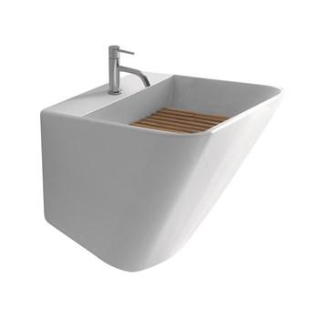 Lavatoio Ceramica Con Mobile.Lavatoi In Ceramica Diverse Dimensioni E Forme Ceramica