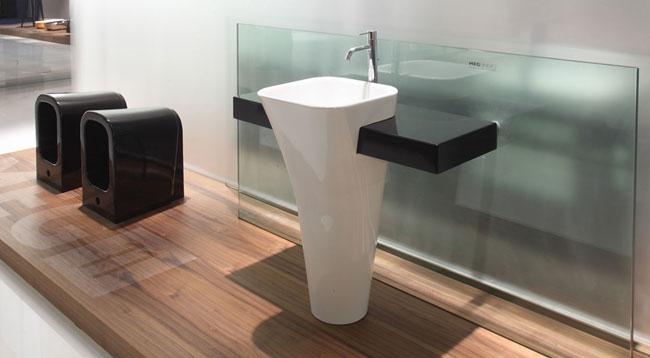 Sanitari per arredo bagno collezione meg11 ceramica galassia for Lavatoio bagno moderno
