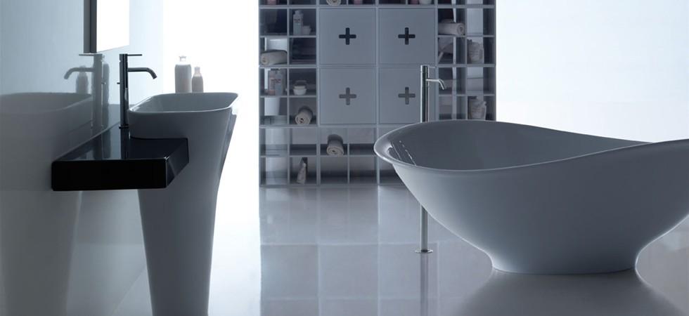 Galassia sanitari lavabi d 39 arredo piatti doccia e - Sanitari bagno dimensioni ...