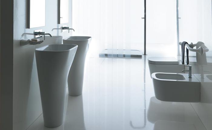 Sanitari per arredo bagno collezione meg11 ceramica galassia - Galassia arredo bagno ...